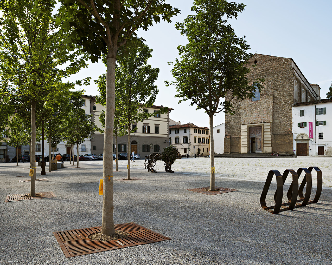The New Piazza Del Carmine in Oltrarno , Florence - Italy-image-5