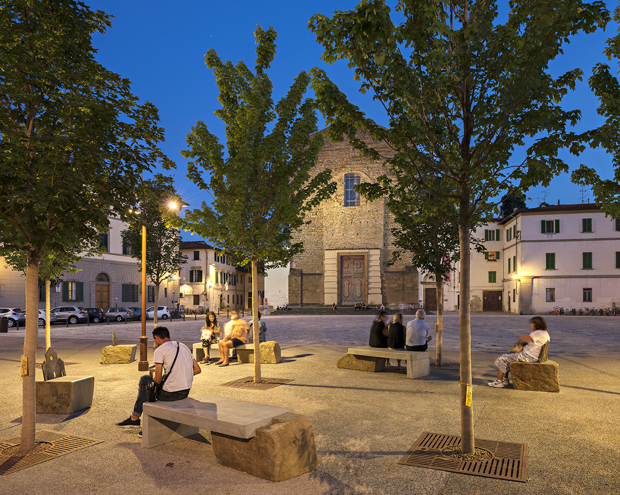The New Piazza Del Carmine in Oltrarno , Florence - Italy-image-6