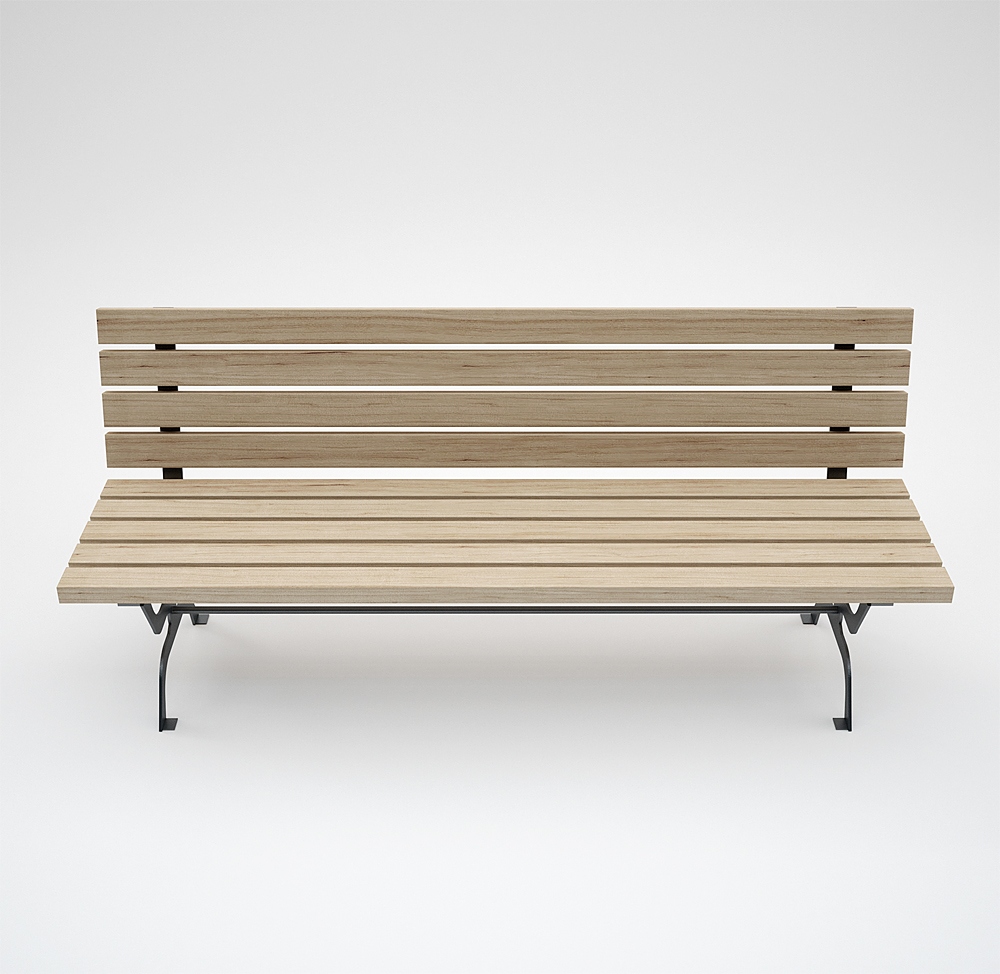 """Retrò Wood Bench"" 